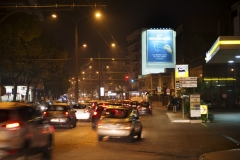 Viale Japigia - notte